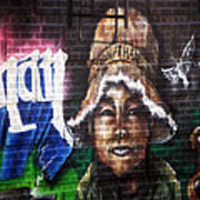 Bronx Graffiti. Jonathan Art Print