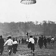 Bronx Parachute Leap Art Print