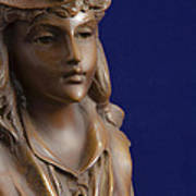 Bronze Lady Art Print