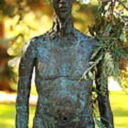 Bronze Man Art Print