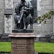 Bronze Statue Of Sir Benjamin Lee Guinness  Art Print