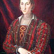 Bronzino's Eleonora Di Toledo Art Print