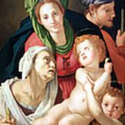 Bronzino's The Holy Family Art Print