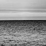 Brooding Sky Over Lake Michigan Art Print
