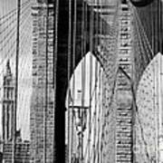 Brooklyn Bridge New York City Usa Art Print