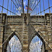 Brooklyn Bridge Ny Art Print