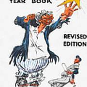 Brooklyn Dodgers 1955 Yearbook Art Print