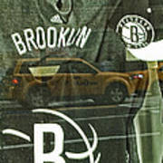 Brooklyn Nets Print by Karol Livote