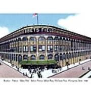 Brooklyn - New York - Flatbush - Ebbets Field - 1928 Art Print