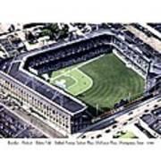 Brooklyn - New York - Flatbush - Ebbets Field - 1940 Art Print