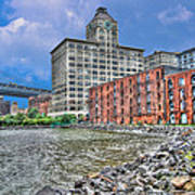 Brooklyn Old Tobacco Warehouse Art Print