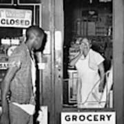 Brooklyn Riots, 1964 Art Print