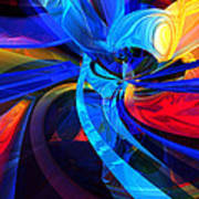 Brooks Aliens 8 Art Print