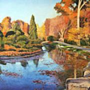 Brookside Garden Art Print