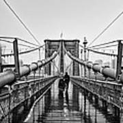Brookyln Bridge  Art Print