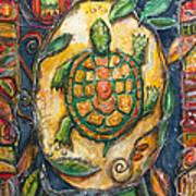 Brother Turtle Vi Art Print