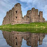 Brough Castle Art Print