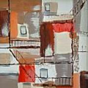 Brown Alley 1 Art Print