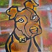 Brown Dog Art Print