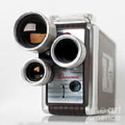Brownie Movie Camera Art Print