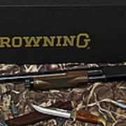 Browning Bps Shotgun  Art Print