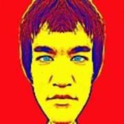 Bruce Lee Alias Art Print