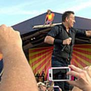 Bruce Springsteen 15 Art Print