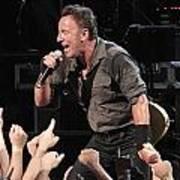 Musician Bruce Springsteen Art Print