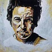 Bruce Springsteen Art Print by Jeremy Moore