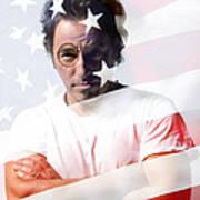 Bruce Springsteen Portrait Art Print