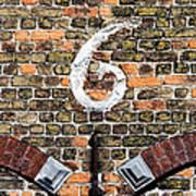 Brugge Detail Art Print