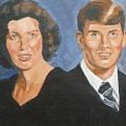 Bryan And Gina Art Print
