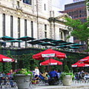 Bryant Park At Noon Art Print by Dora Sofia Caputo Photographic Art and Design