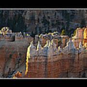 Bryce Canyon At Sunrise Art Print