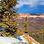 Bryce Canyon Cliff Shot 4 Art Print