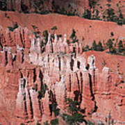 Bryce Canyon Hoodoos Art Print