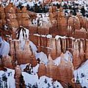 Bryce Canyon In Winter 2 Art Print