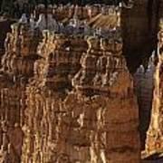 Bryce Canyon National Park Hoodo Monoliths Sunset From Sunrise P Art Print