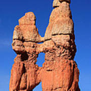 Bryce Canyon Rock Formation Art Print