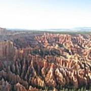 Bryce Canyon Scenic Overlook Art Print