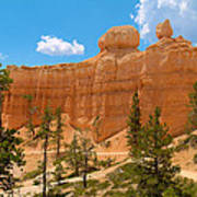 Bryce Canyon Walls Art Print