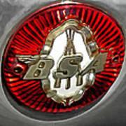 Bsa Badge Art Print