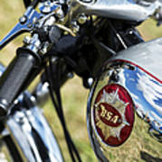 Bsa Rocket Gold Star Motorcycle Art Print