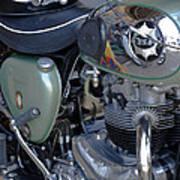 Bsa Motorcycle Art Print