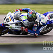 Bsb Superbike Rider John Hopkins Art Print