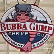 Bubba Gump Shrimp Co. Art Print