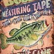 Bubba Measuring Tape Art Print