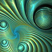 Bubble Spiral Art Print