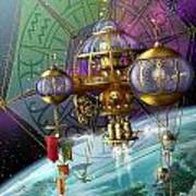 Bubble Telescope Art Print