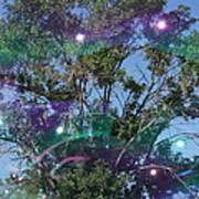 Bubble Tree Art Print
